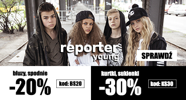 Nowa promocje Reporter Young