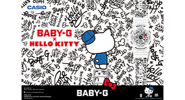 Zegarki BABY-G X HELLO KITTY