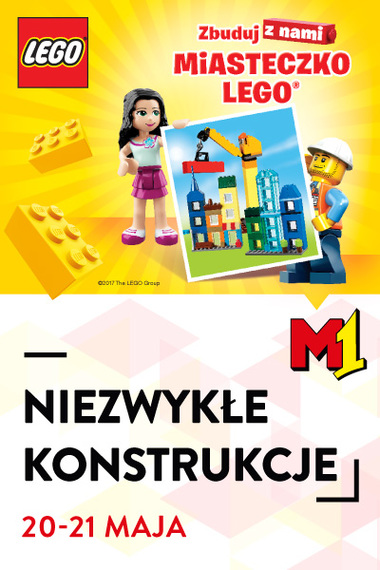 Kreatywny weekend z Lego w M1!