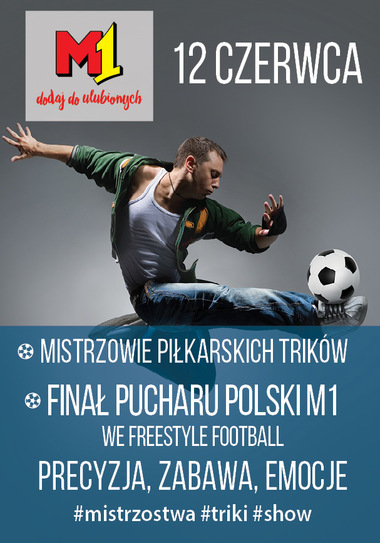Freestyle Football w M1 Bytom
