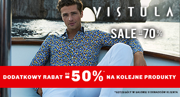 Sale do -70% w salonie Vistula