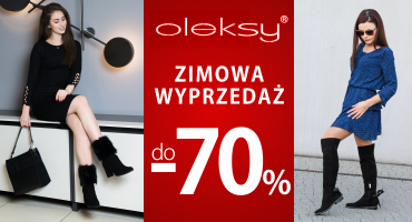 Do -70% w Oleksy!